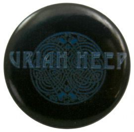 Uriah Heep - 'Round Logo' Button Badge